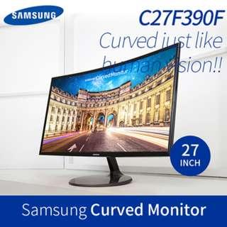 Samsung CURVED MONITOR C27F390F
