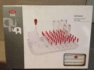 OXO bottle drying rack