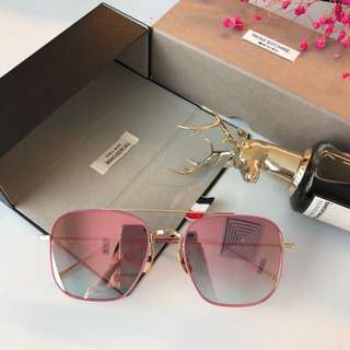 Thom Browne 🔥Clearance🔥 Boutique Unisex Sunglasses Polarized Shade Lens Full UV Protection Shade Driver Essential Holiday Business Trip Gift