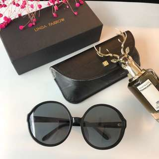 Linda Farrow 🔥Clearance🔥 Boutique Unisex Sunglasses Polarized Shade Lens Full UV Protection Shade Driver Essential Holiday Business Trip Gift