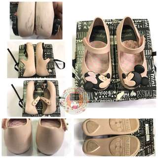 Mini Melissa Disney Twins Pink shoes
