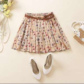 🌷Floral Skirt Shorts-Wardrobe Clearance Sale!