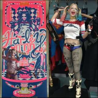 🌷1/6 Harley Quinn Crazy Toys Statue for sale!! Hot Toys