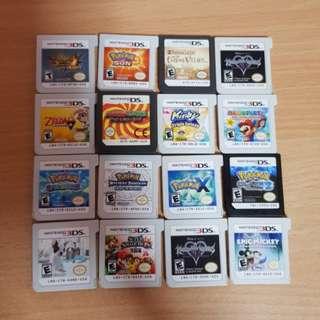 Nintendo 3DS DS Games