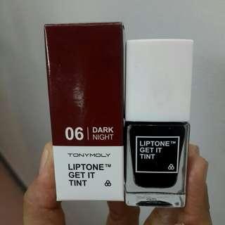 Liptone get it tint #6 dark night