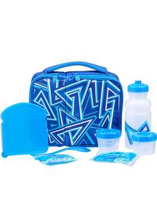 8 Piece Blue Lunch Bag from Australia