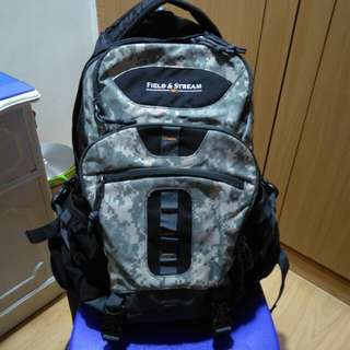 Field and stream camo backpack