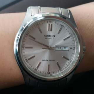Casio vintage male/female watch中性錶