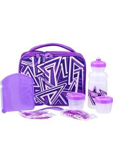 8 Piece Purple Lunch Bag from Australia