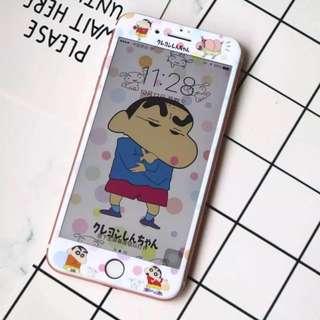 Iphone7plus /8plus 軟邊蠟筆小新 $65(包郵