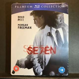 SE7EN | SEVEN Blu-ray Steelbook UK Premium Collection | Limited Edition OOP US$110 | S$138