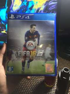 Blu-ray Disc BD Playstation 4 PS4 FIFA 16 Reg 3