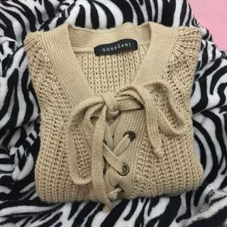 Tied Sweater