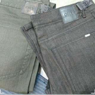 OBEY牛仔褲2pcs