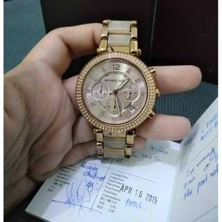 Authentic Michael Kors MK5896