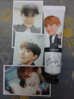 Bts handcream jhope