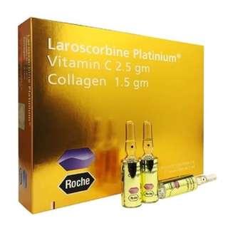 Roche Laroscorbine Platinum (Vitamin C 2.5gm + Collagen 1.5gm)