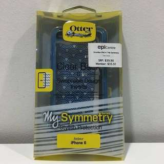 Promo! OtterBox My Symmetry iPhone 6/6s Case: (Clear Blue)