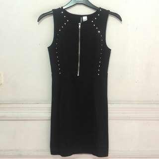 H&M Black Dress Elegan