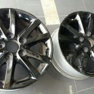 Bmw e46 lifestyle pack  rims