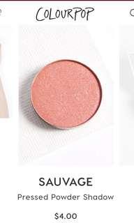 Colourpop Sauvage Pressed Powder Shadow