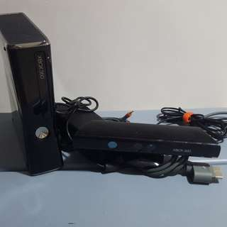 Xbox 360 With Kinect 250gb