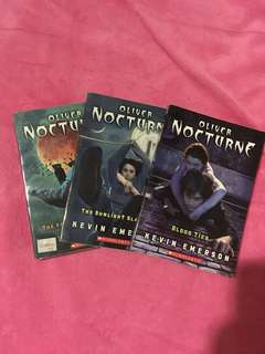 Oliver Nocturne Books 1 to 3 (package)