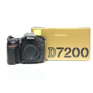 Nikon D7200 Body (SC 9K)