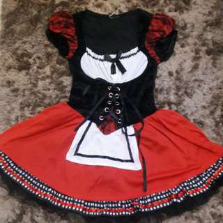 Gothic Lolita Little Red Riding Hood Cosplay costume for rent