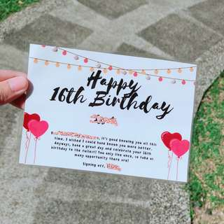 {FREE CUSTOMIZATION} Birthday Cards Gift Cards Anniversary Cards