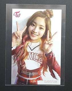 收Twice小卡 thailand version dahyun 多賢