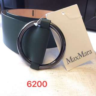 Max Mara Italy leather belt