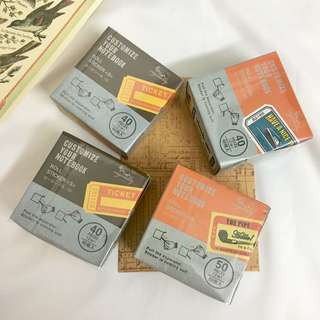 Vintage bus tickets peal off roll stickers for arts and journalling