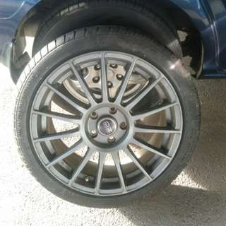 "Velg R17 ""OZ RACING"""