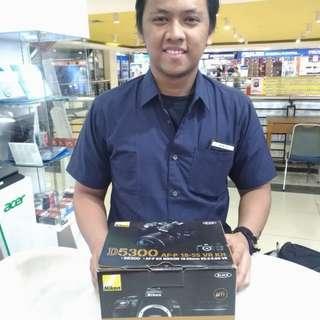 Nikon D5300 kredit tanpa dp cukup 199rb