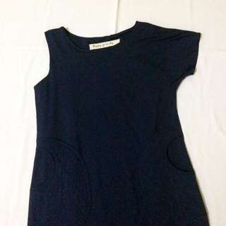 dress HGL happy go lucky navy