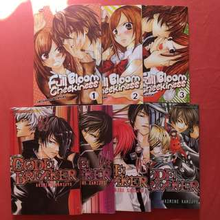 Komik Code Breaker & Full Bloom Cheekiness