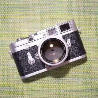 Leica M3 Film Rangefinder Canon 50mm F1.4 Lens