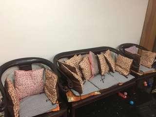 Sofa cushions giving away at a throw away price