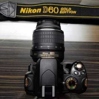 Nikon D60 Gold Edition