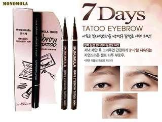 Monomola 7 Days Eyebrow Tattoo Pen Liner