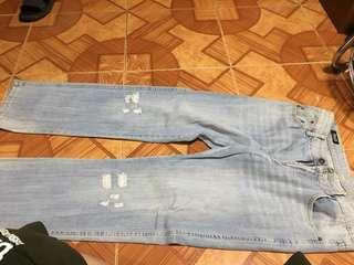 Dolce ans gabana tattered jeans