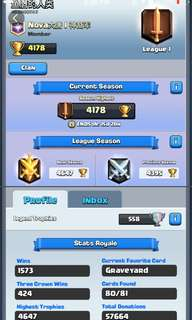 Clash Royale Account | MAXED ZAP + 130K GOLD
