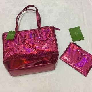Kate Spade Pink Bag with Wallet