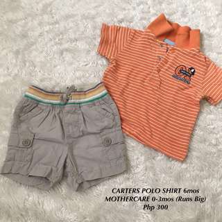 Mothercare and Carters