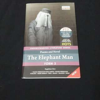 Poem and Novel The Elephant Man Form 3 by Magdalene Chew OXFORD FAJAR #Bajet20