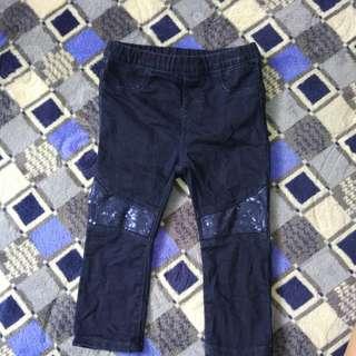 H&M Denin Pants Girls  New