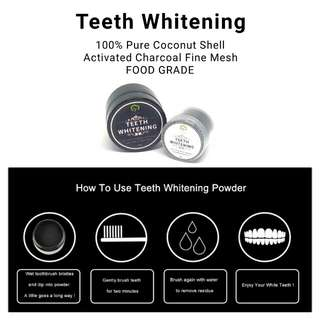 Teeth Whitening | Activated Charcoal Fine Mesh | Imported | Food Grade