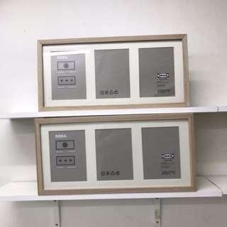 Ikea RIBBA photo frame x2