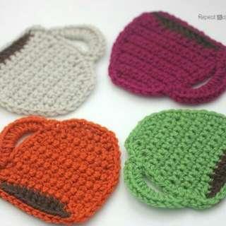 Coffee Mug Coasters Crochet